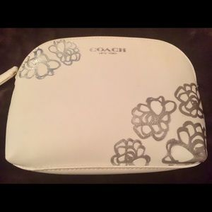 Coach Genuine Leather Cosmetic Bag